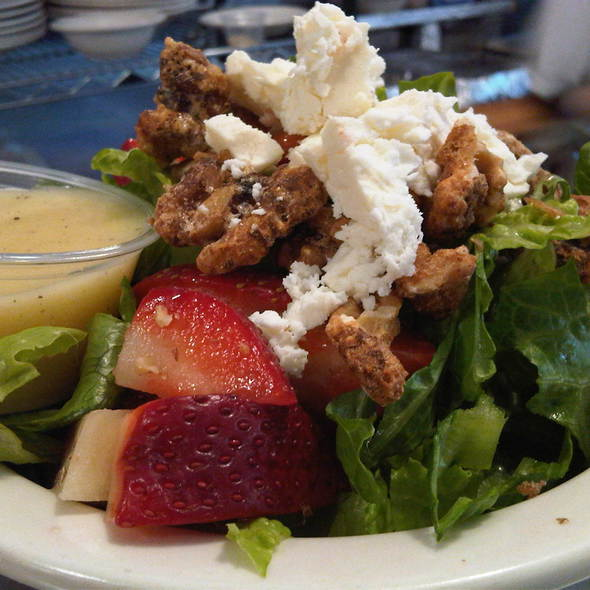 Strawberry w/ Feta Salad @ Lanskys