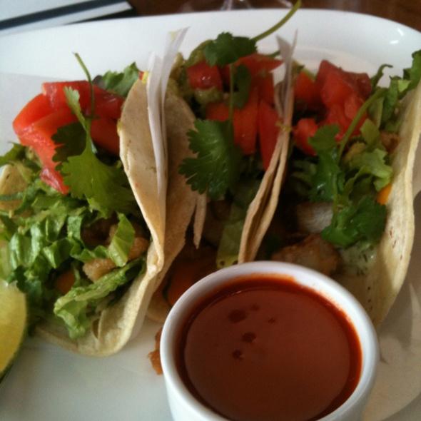 Joey don mills grill menu toronto on foodspotting for Baja fish tacos menu