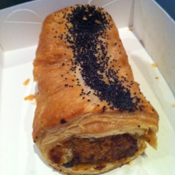 Pork and Fennel Sausage Roll @ Adriano Zumbo Pattisier