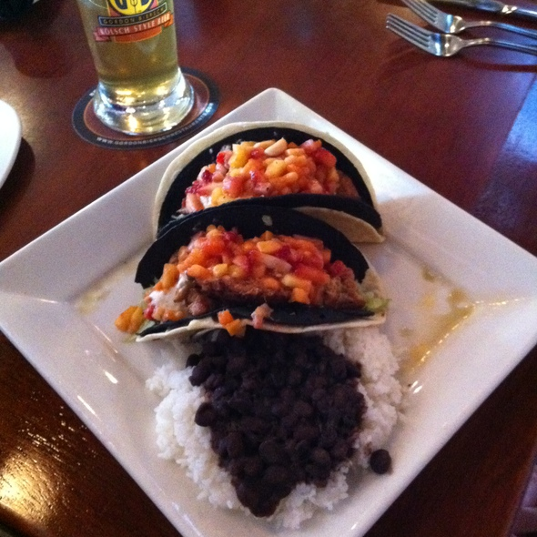 Jerk Chicken Tacos @ Gordon Biersch Brewery Restaurant