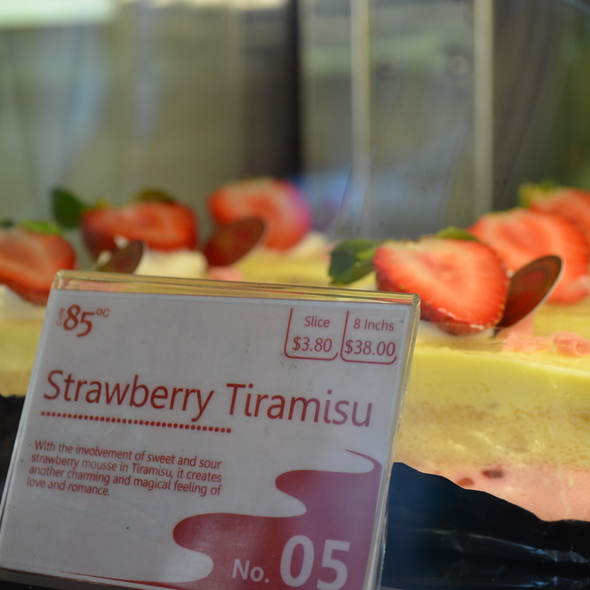 Strawberry Tiramisu @ 85 Degrees