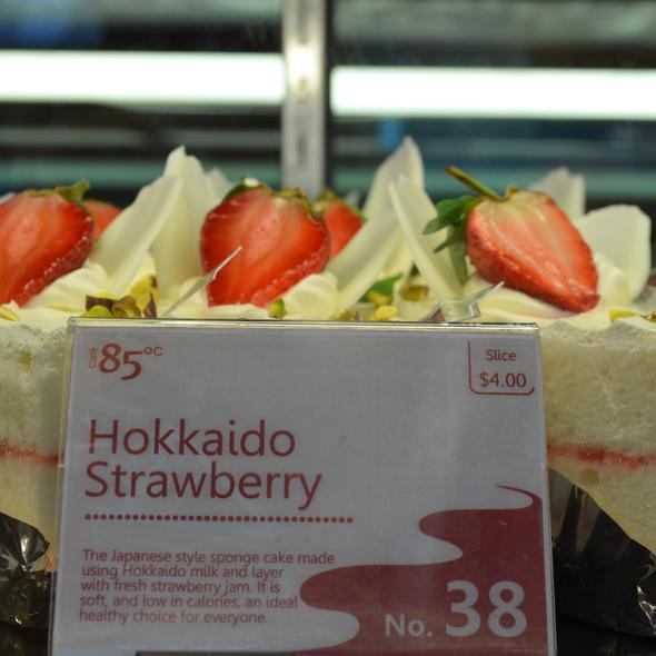 Hokkaido Strawberry @ 85 Degrees