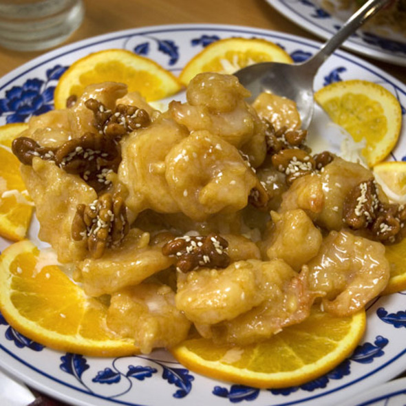 Honey Walnut Shrimp @ Mandarin Canton Restaurant