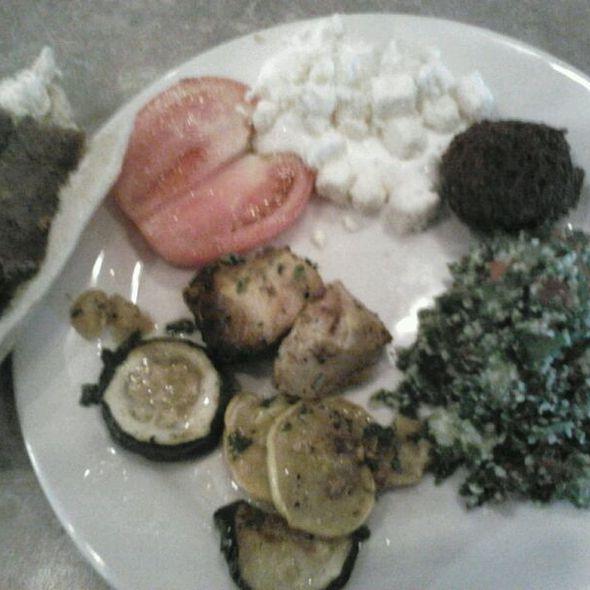 Lamb Beef Gyro @ Khoury's Mediterranean Restaurant