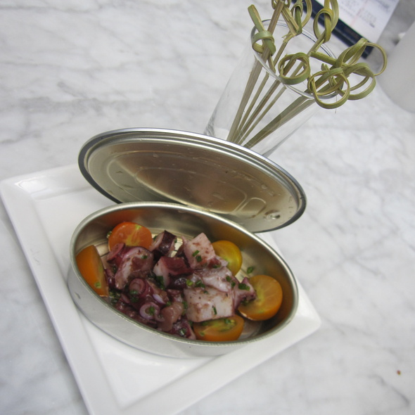 Boiled Octopus and Tomato Confit @ Bar Basque