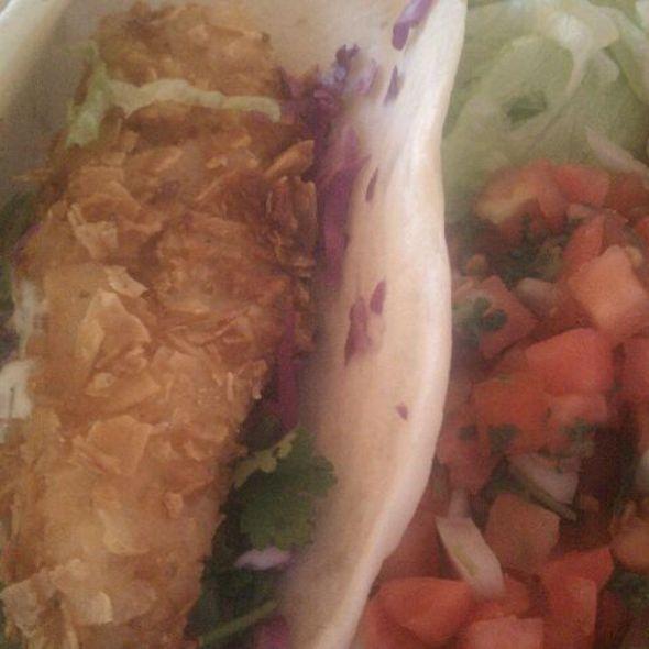 Baja Fish Taco @ Chuy's