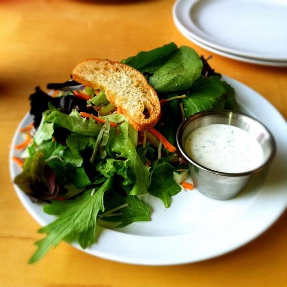 House Salad Half Order @ Corner Pizza