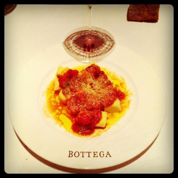 melt in your mouth potato gnocchi  amazing! @ Bottega