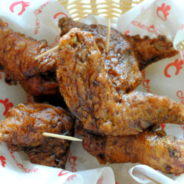 Chicken Charlie Wings & Drumsticks @ Chicken Charlie
