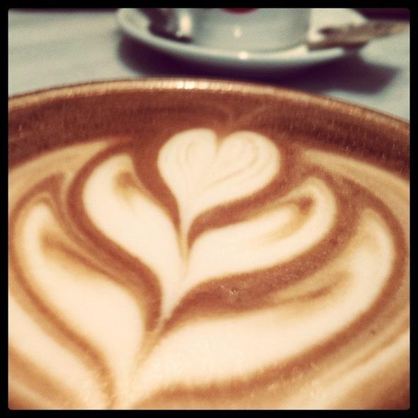 Cafe Latte @ Dolcezza Gelato