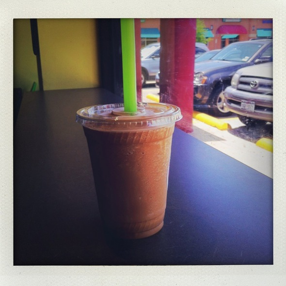 Iced Coffee Frappe @ Boba Latte