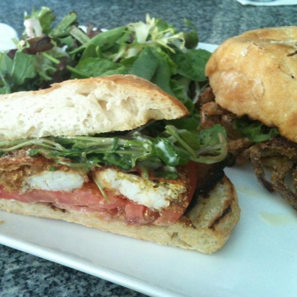 Soft Shell Crab Sandwich @ Hotel Fauchere