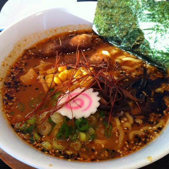 Spicy Miso Ramen @ Shalala Japanese Ramen