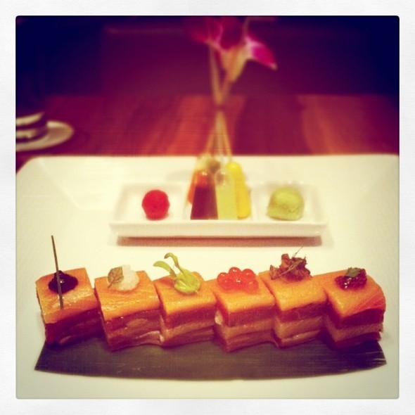 beautiful morimoto sashimi @ Morimoto Napa