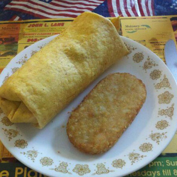 Egg Wrap @ Home Plate Diner