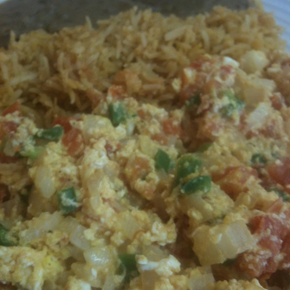 Mexican Scrambeled Eggs
