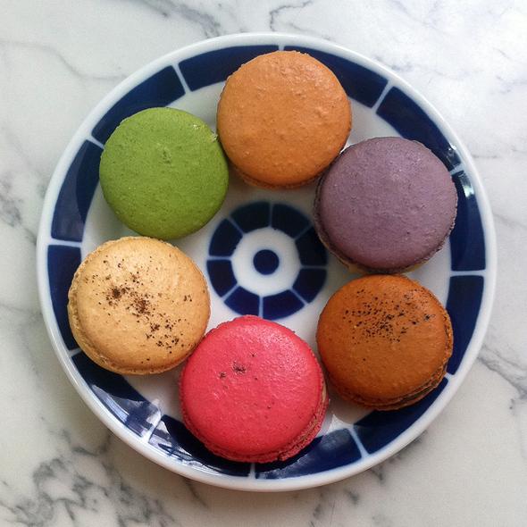 Assorted Macarons @ Moulin Chocolat