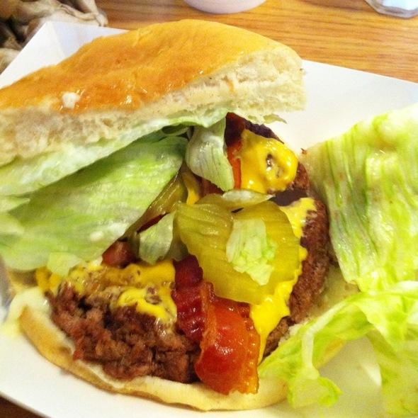 Bacon Cheese Burger @ Armando's Highway 58