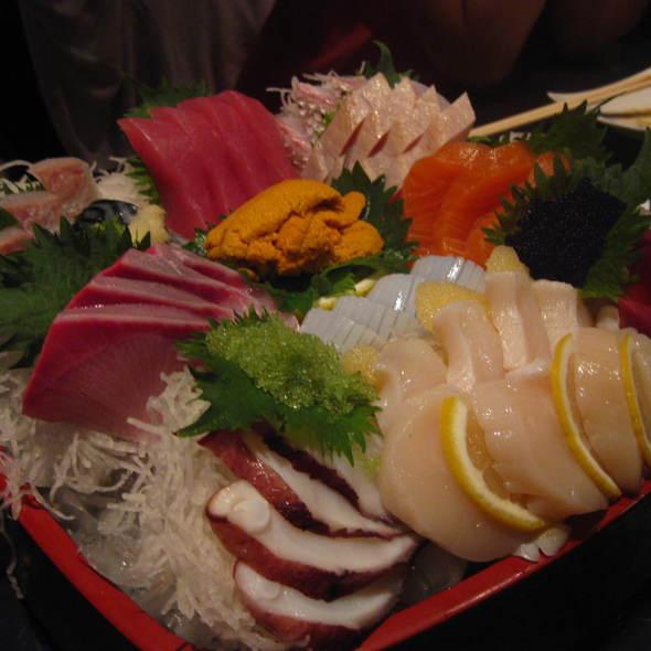 Chef Special Sashimi Platter @ Sushi Club Ocean Blue