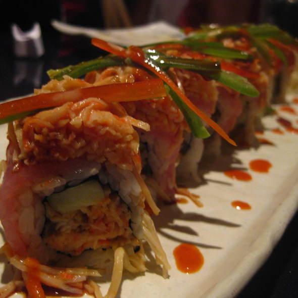 Firecracker Roll @ Sushi Club Ocean Blue