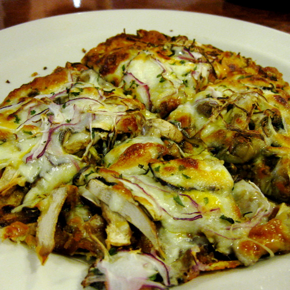 Nasu Curry Pizza @ Gochi Japanese Fusion Tapas