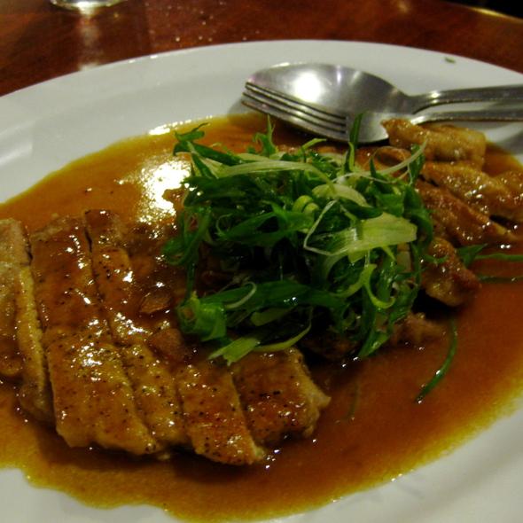 Kurobota Pork @ Gochi Japanese Fusion Tapas