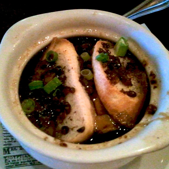 Guinness Onion Soup @ Slainte Irish Pub & Restaurant