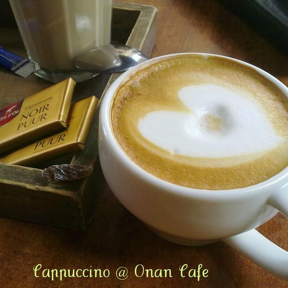 Cappuccino @ Koffie Onan