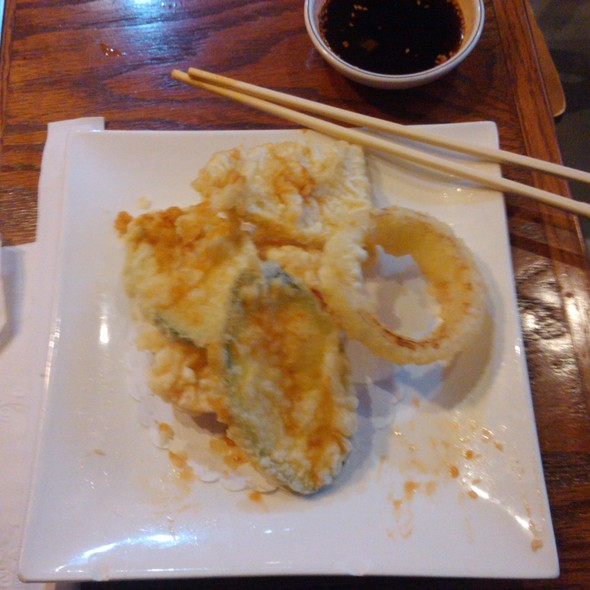 Vegetable Tempura @ Korean Garden