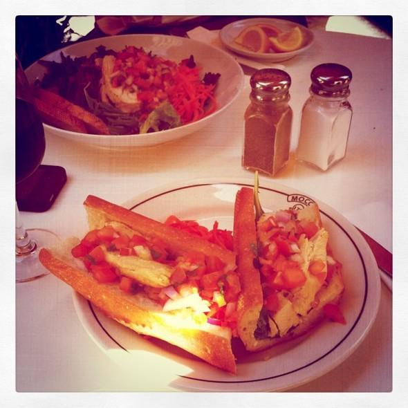 Chicken Sandwich @ Mocca