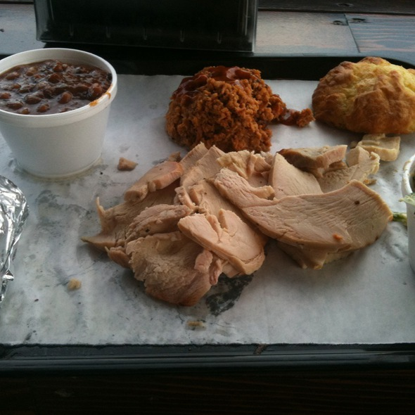 4 Rivers Winter Garden Part - 22: Pulled Chicken Bbq And Smoked Turkey At 4Rivers Smokehouse