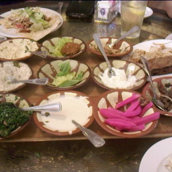 Aladdin Meza Platter @ Aladdin Restaurant