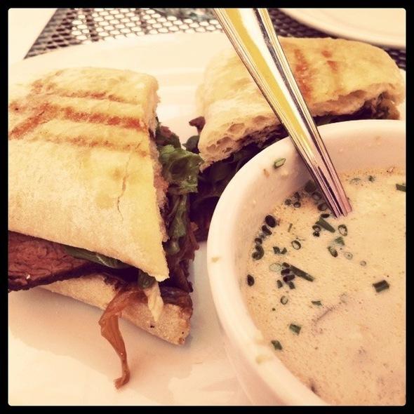 New York Steak Sandwich - Cafe Trio Cottonwood, Salt Lake City, UT