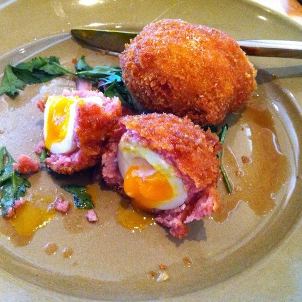 Scotch Eggs @ Cotogna
