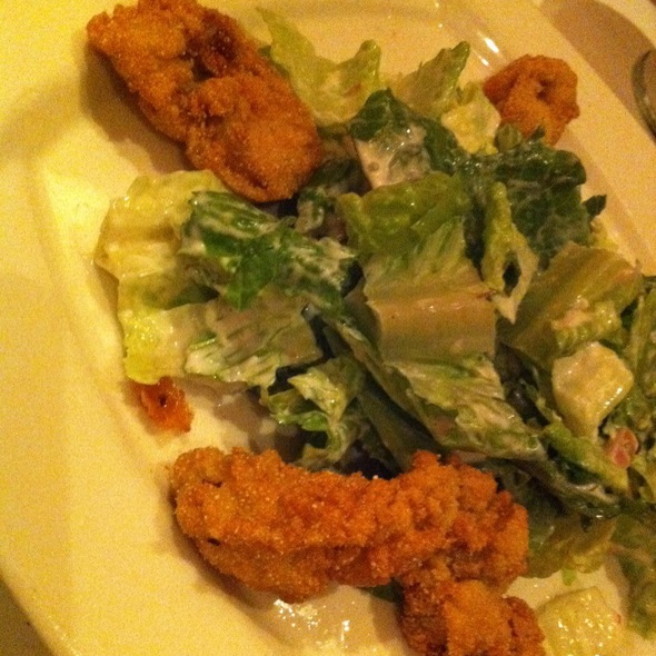 Fried Oyster Salad - Park Heights, Tupelo, MS