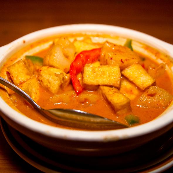 Pineapple Curry With Tofu @ Nori Thai Restaurant