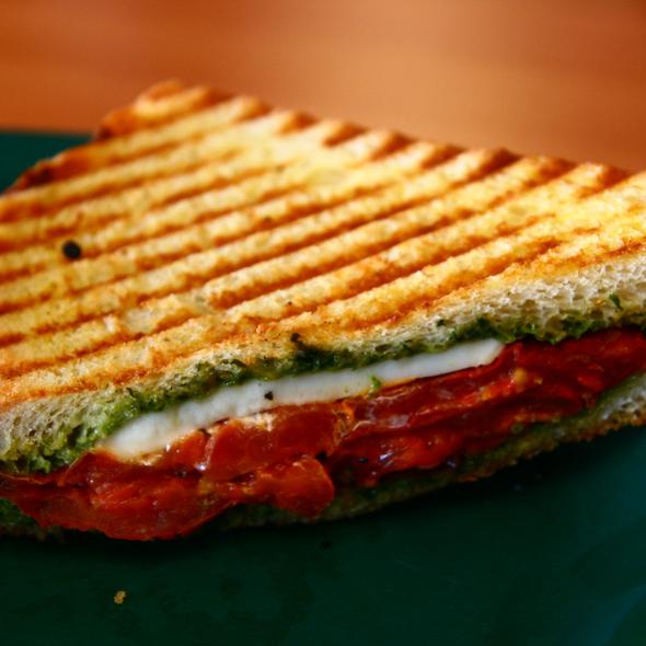 Tomato Basil Panini @ Zuppa's Deli
