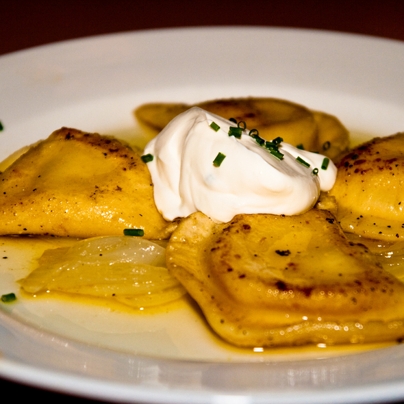 Traditional Pierogies @ Church Brew Works & Restaurant