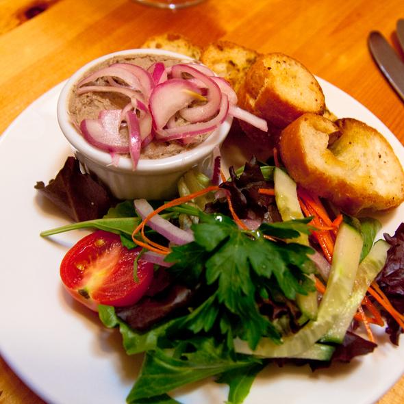 Duck Liver Pate @ Chez Piggy Restaurant