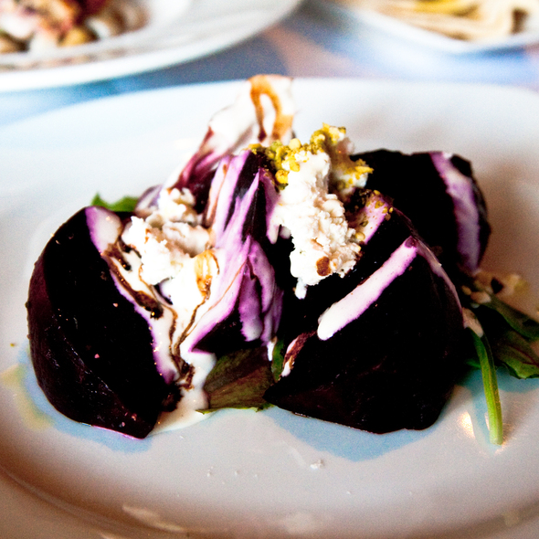 Roasted Beets @ Tomi-Kro