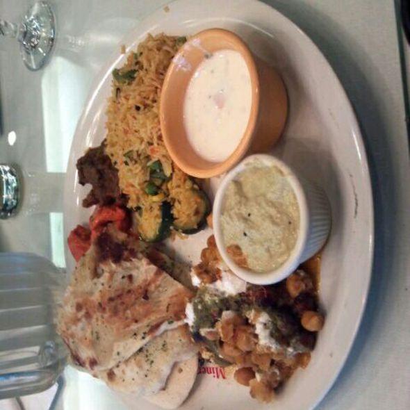 buffet @ Minerva Indian Cuisine
