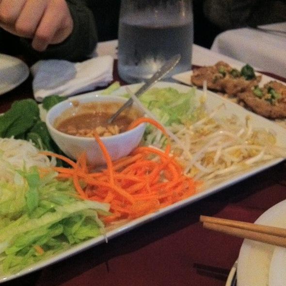 Nem Nuong Rolls @ Le Tran Vietnamese Restaurant