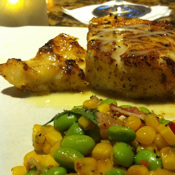 Chilean Sea Bass With Lemon Butter @ Bonefish Grill - Jacksonville Beach