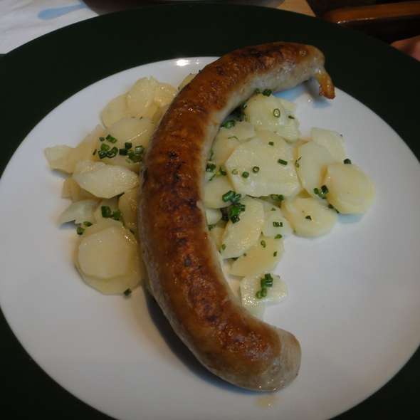 Bratwurst, Potato Salad