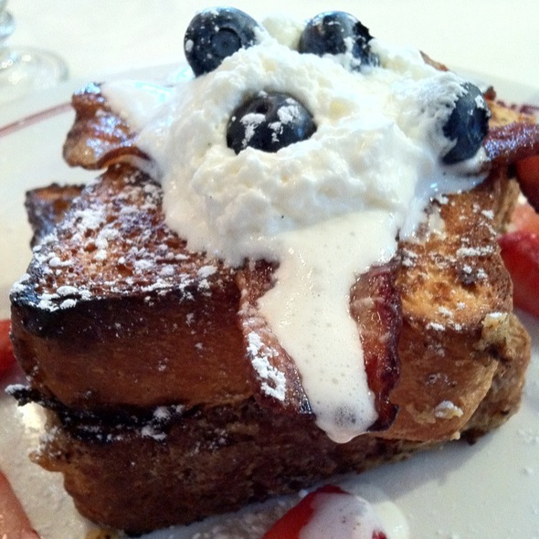 brioche french toast @ Aquitaine Boston