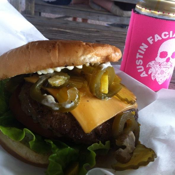 Jalapeno Cheeseburger @ Ghost Town Burgers