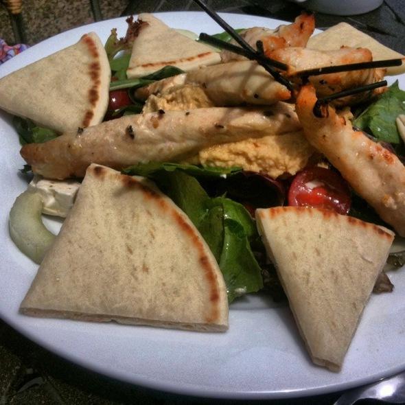 chicken skewers @ Feast Restaurant + Bar