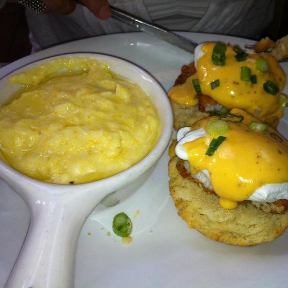 Eggs Benedict W/ Fried Catfish