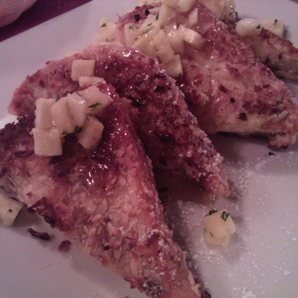 Coconut Crusted French Toast @ Maspeth Ale House