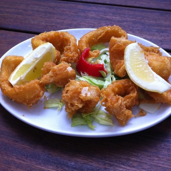 Fried Calamari @ The Rock & Sole Plaice